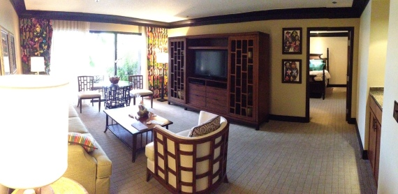 living room panorama