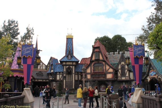 The main entrance into Fantasy Faire