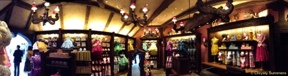 Panoramic of Fairy Tale Treasures