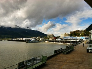 Downtown Juneau and the Gastineau Channel