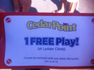 Cedar Point Free Play